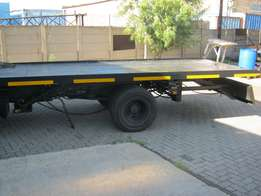 Manufacturing of rollbacks and small trailer carriers