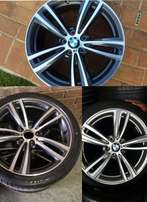 BMW 19 inch Msport mags with tyres