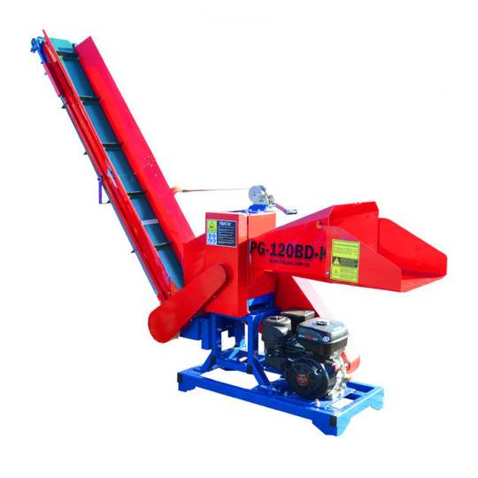 New PG-120VD-K wood chipper