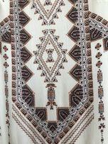 3cb66ec447a0b7 Sukienka w azteckie wzory Promod rozmiar 34