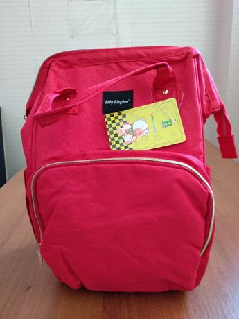 0769978689d4 Сумка-рюкзак для мам, Mummy Bag, Baby Mo. -- КРАСНАЯ: 450 грн ...