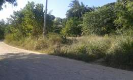 1 Acres Land For Sale in Kikambala Mtwapa Mombasa With Clean Title