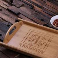 Personalized Bamboo Trays | Gift Items | Small