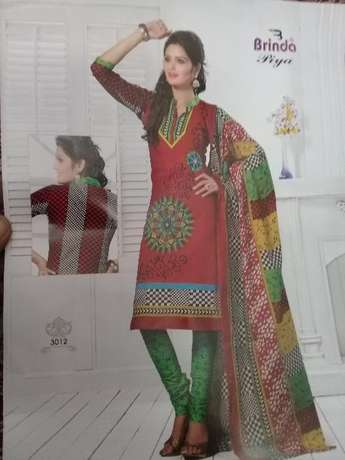 Brinda cotton salwar suit 3 pices Mombasa Island - image 3