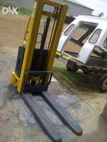Refurbished Pallet Stacker for sale -- Semi Electric