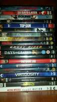 Various DVD's and cabinet