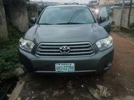 Toyota Highlander 2008 model Registered For Quick Sale