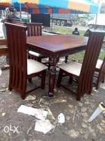 Dinning table with six chairs for 50000