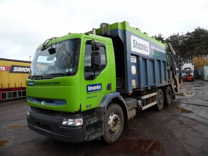 Renault Premium 320 6x2 vuilniswagen