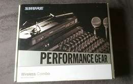 Shure PG Wireless Combo Microphone System (Mint Condition)