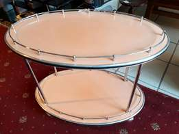 Art deco cocktail trolley