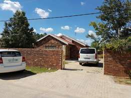 Beautiful 2 bedrooms house for sale in motiswa close every thing