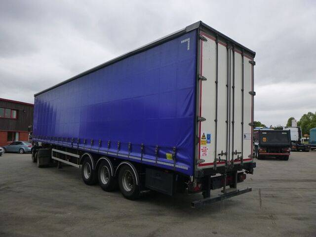 David Brown lawrence  curtainside curtain side semi-trailer for sale by - 2013