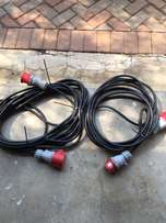 3 Phase extension leads or cables (new)