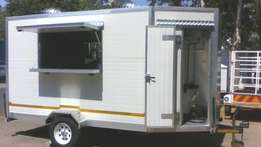 Mobile Kitchen Trailer (3m x 2.1m) for Sale