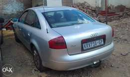 Audi A6 2000 model in good condition
