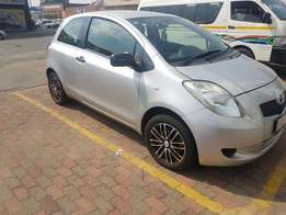 Toyota Yaris T1. The get in and go deal. A real fuel saver