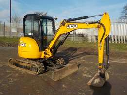 Used JCB 8030ZTS excavator for sale