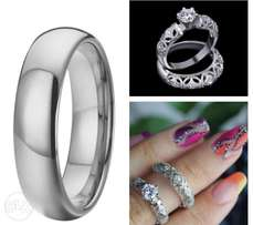 Dazzling Wedding Rings Combo