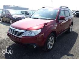 Subaru Forester 2010 Model Automatic Transmission AWD Maroon Color