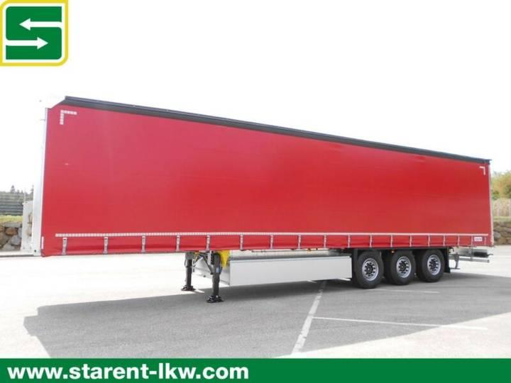 Schmitz Cargobull Tautliner, Palka, Liftachse, XL, Multilook - 2018