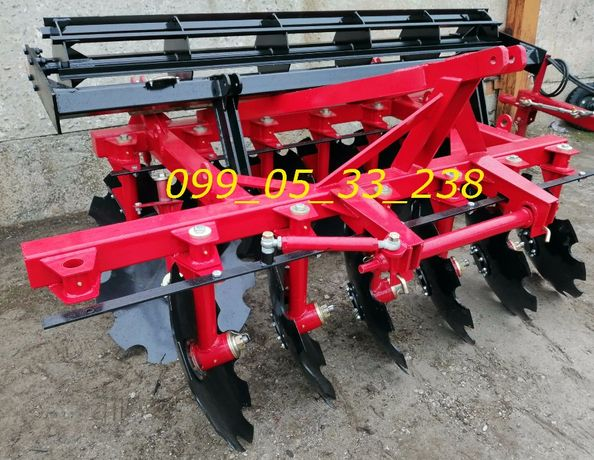 Борона ДИСКОВАЯ для трактора 2.1-2.4-2.5 метра захвата для ЮМЗ, МТЗ Днепр - изображение 3