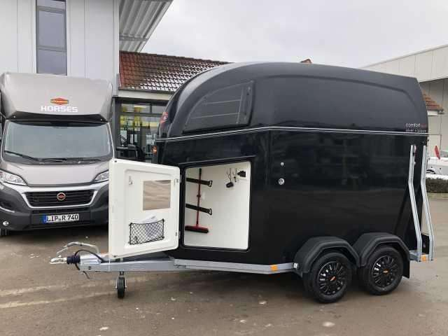 Böckmann Comfort Esprit Albsilver+black Pferdeanhänger