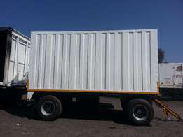 New and used draw bar trailers