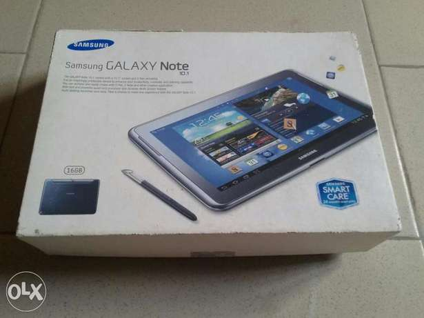 10.1 inches brnd new but opened carton samsung note tab Yaba - image 4