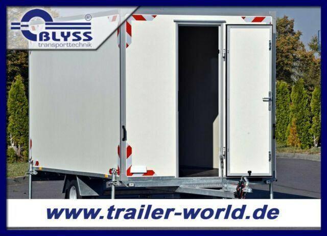 Blyss REDUZIERT Bauwagen Anhanger 370x210x210cm 1300kg