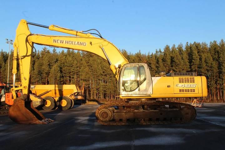 New Holland E 485 Lc / Rasvari, Lämmitin, Kuokkakauha - 2007