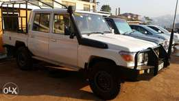 land cruiser double cabin hardtop