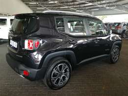 2016 Jeep Renegade 1.4Tjet Limited Manual