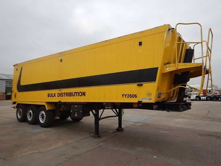 Weightlifter 67 CU-YD PLANK SIDED BULK TIPPING TRAILER - 2010 - C307250 - 2010