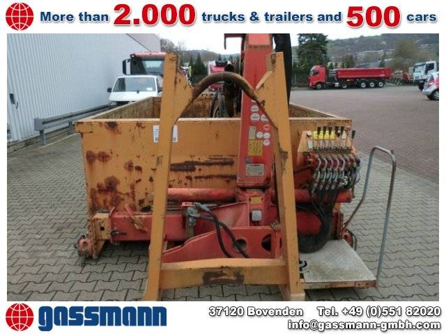PALFINGER PK 8000 Abroll-Container mit Kran - 1995