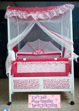 2 in 1 baby bed Kampala - image 1