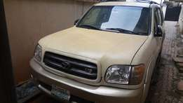 Registered Toyota Sequoia 2002 Automatic Jeep for Sale