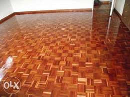 sanding and sealing of any wooden floors, repairs too.
