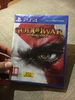 Sealed copy of God Of War Remastered on PS4 - Never been open