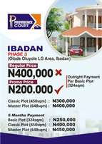 Invest in a plot of land in Ibadan today for just 200k