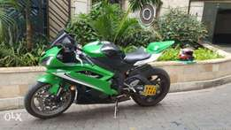 2009 Yamaha R6 (unregistered)