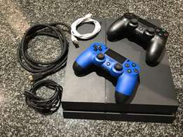 New PS4 1TB + 4 games + 4 year exended warranty