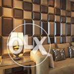 3d leather wallpanel