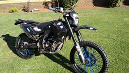Offroad/onroad 250cc smr water cooled