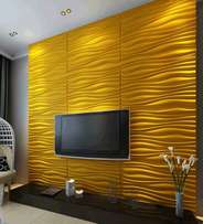 3D Panel Wall Papers for Living Rooms | Hotels