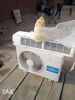 Clean fairly used 2Hp Haier Thermocool for sale.