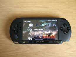 playstation portable ..psp with 8gb and 10games