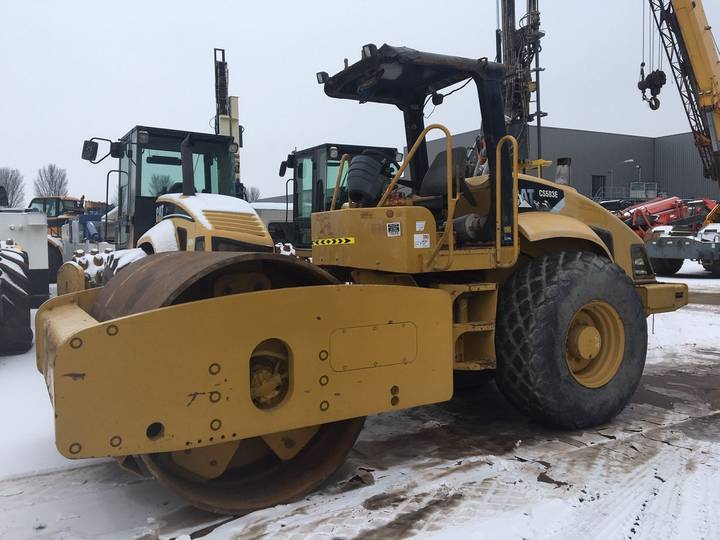 Caterpillar CS583E - 2008