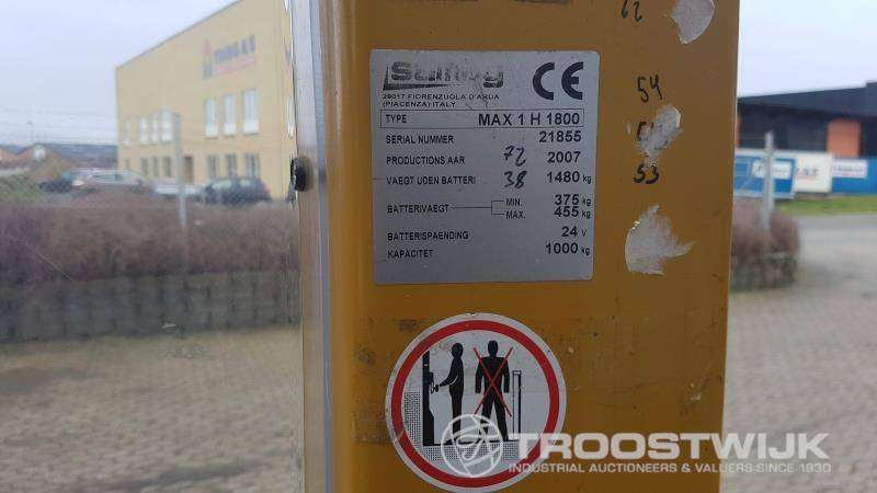 Samag MAX 1 H 1800 - 2007 - image 20