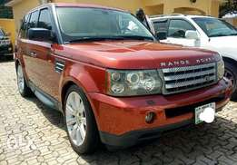 Few months used 07 Range Rover Sport